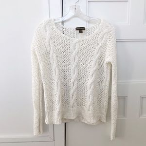 Tommy Bahama Open Weave Cotton Cable Knit Sweater